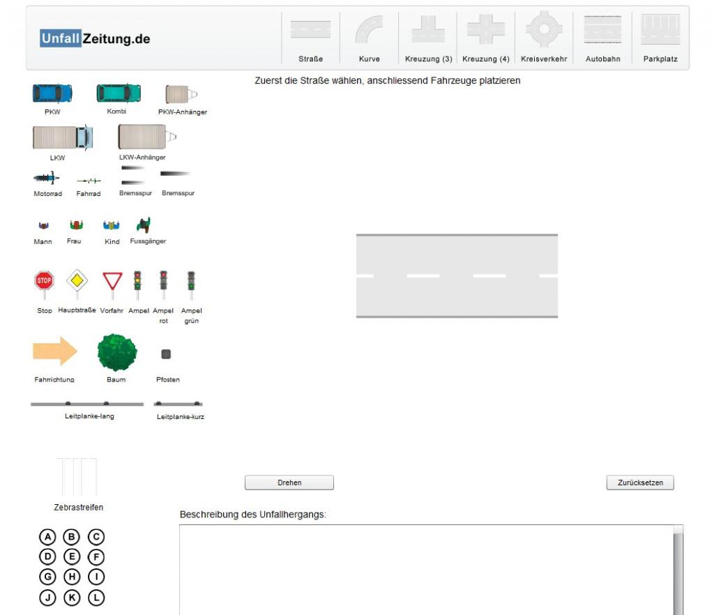 Flash Programmierung Unfallskizze - 3D-Grafik/Animation und ...